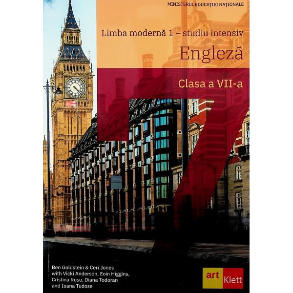 Limba moderna 1 - Studiu intensiv. Engleza, clasa a VII-a