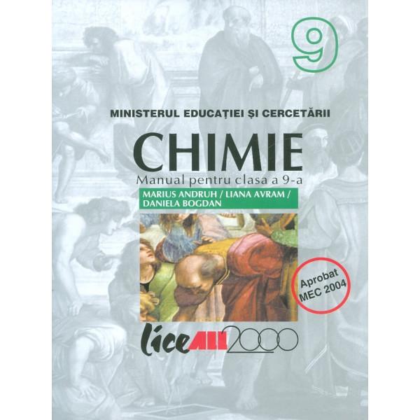 Chimie, clasa a IX-a