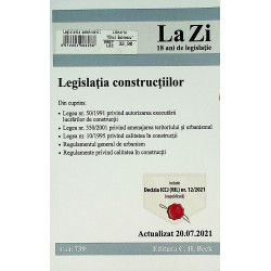 Legislatia constructiilor