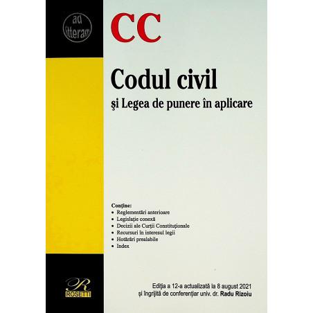 Codul civil si Legea de...