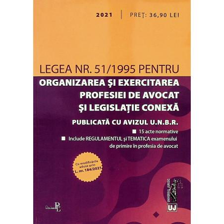 Legea nr. 51/1995 pentru...