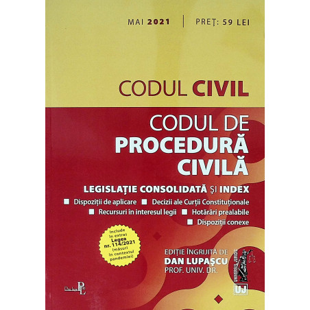 Codul civil. Codul de...