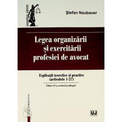 Legea organizarii si...