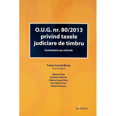 O.U.G. nr.80/2013 privind...