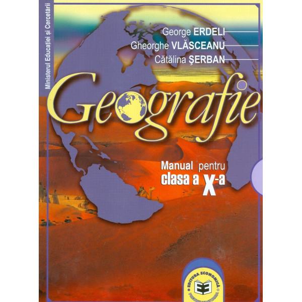 Geografie, clasa a X-a