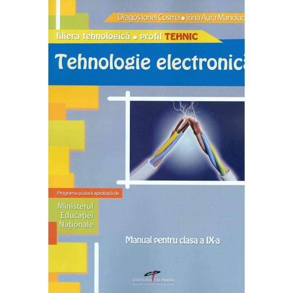 Tehnologie electronica, clasa a IX-a
