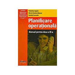 Planificare operationala, clasa a XI-a