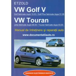 VW Golf V - VW Touran....