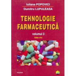 Tehnologie farmaceutica,...