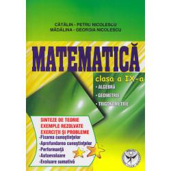 Matematica, clasa a IX-a:...